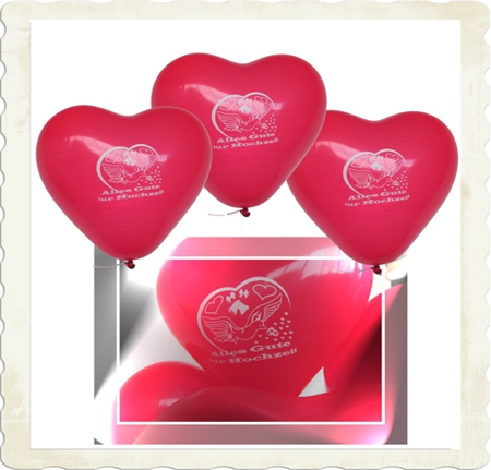 Luftballons Hochzeit: Alles Gute zur Hochzeit